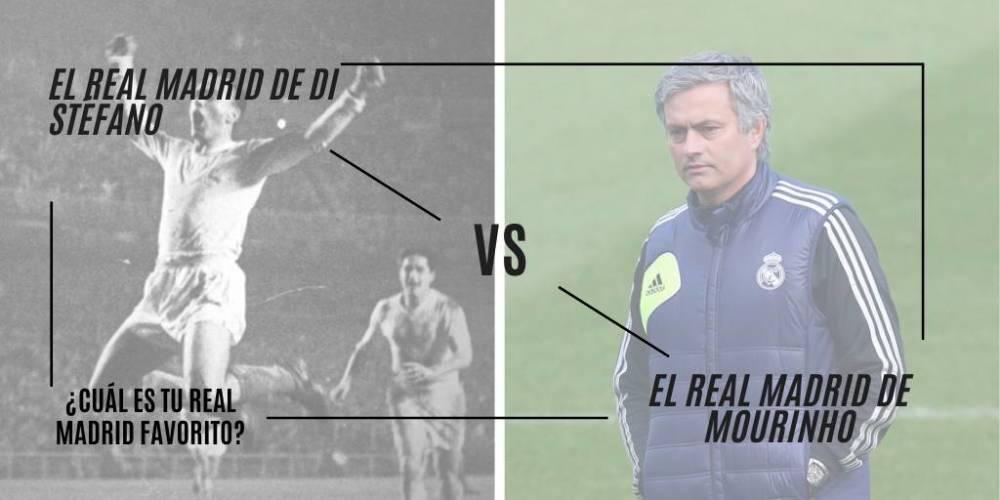 Di Stéfano y Mourinho