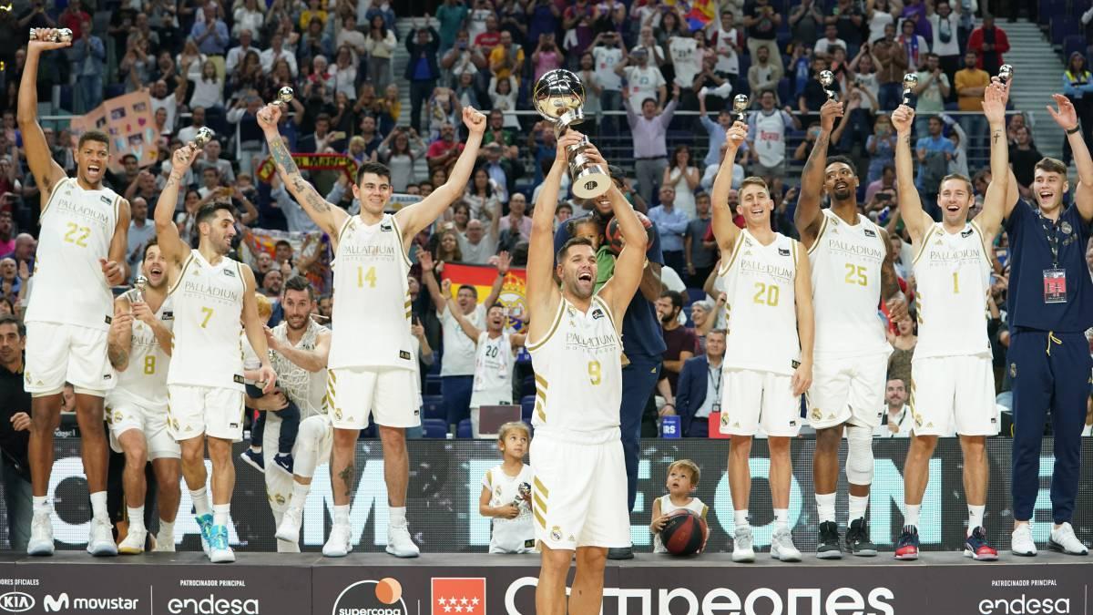 Real Madrid campeón de Supercopa