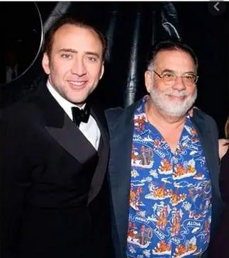 Nicolas Cage y Francis Ford Coppola