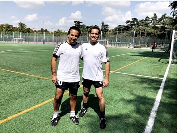 Iker Jiménez y su cuñado Félix