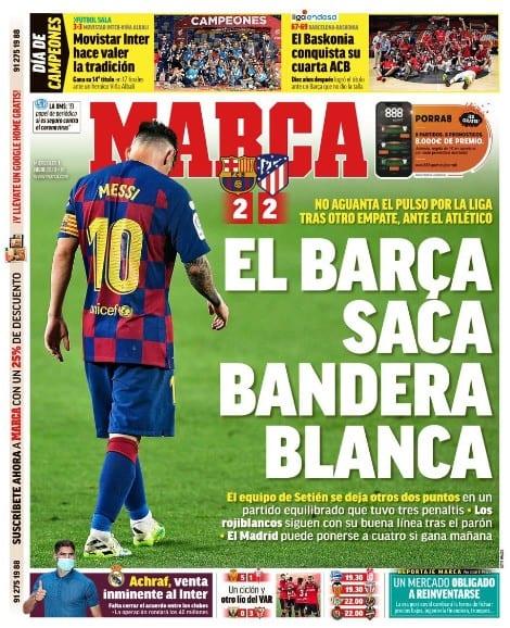 Messi tras la debacle del FCBarcelona