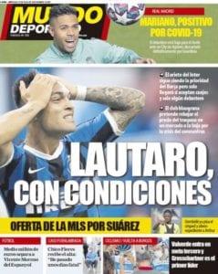 Lautaro Martínez es la prioridad del FCBarcelona
