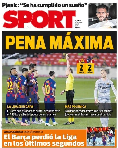 Pena Máxima para el FCBarcelona