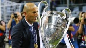 Zidane campeón de Europa
