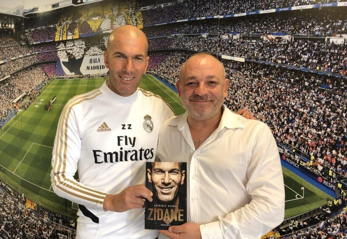 Zidane y Hermel.