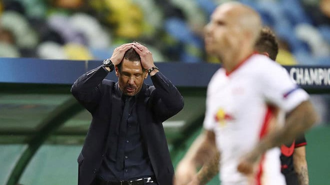 Simeone se lamenta.