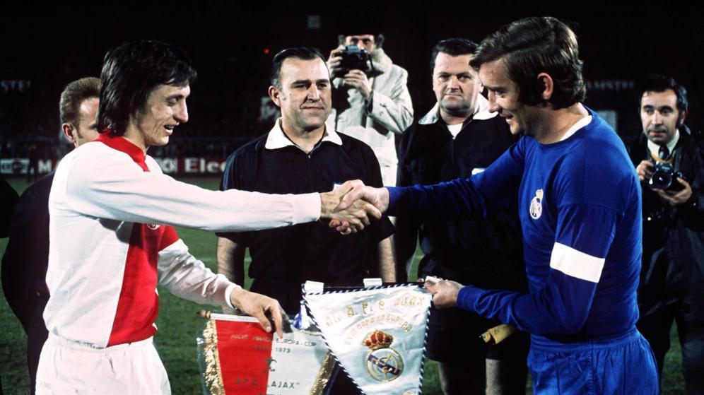 Cruyff y Zoco.