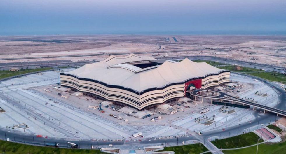 Estadio en Catar.