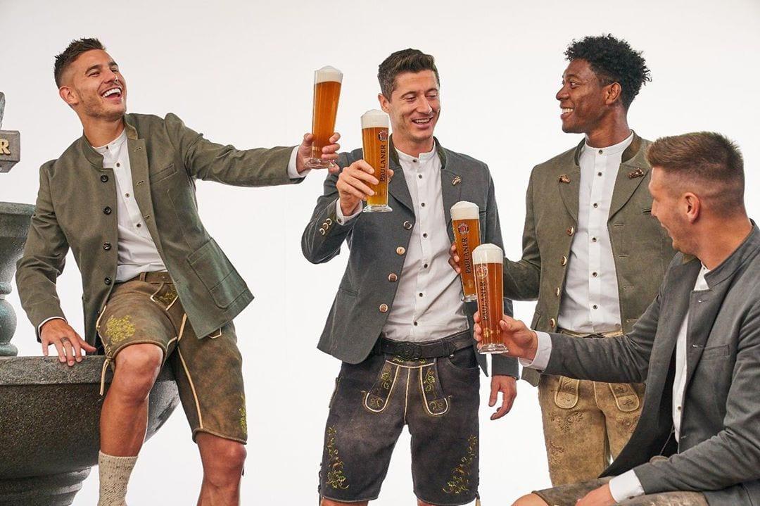 Bayern de Munich en la OktoberFest.