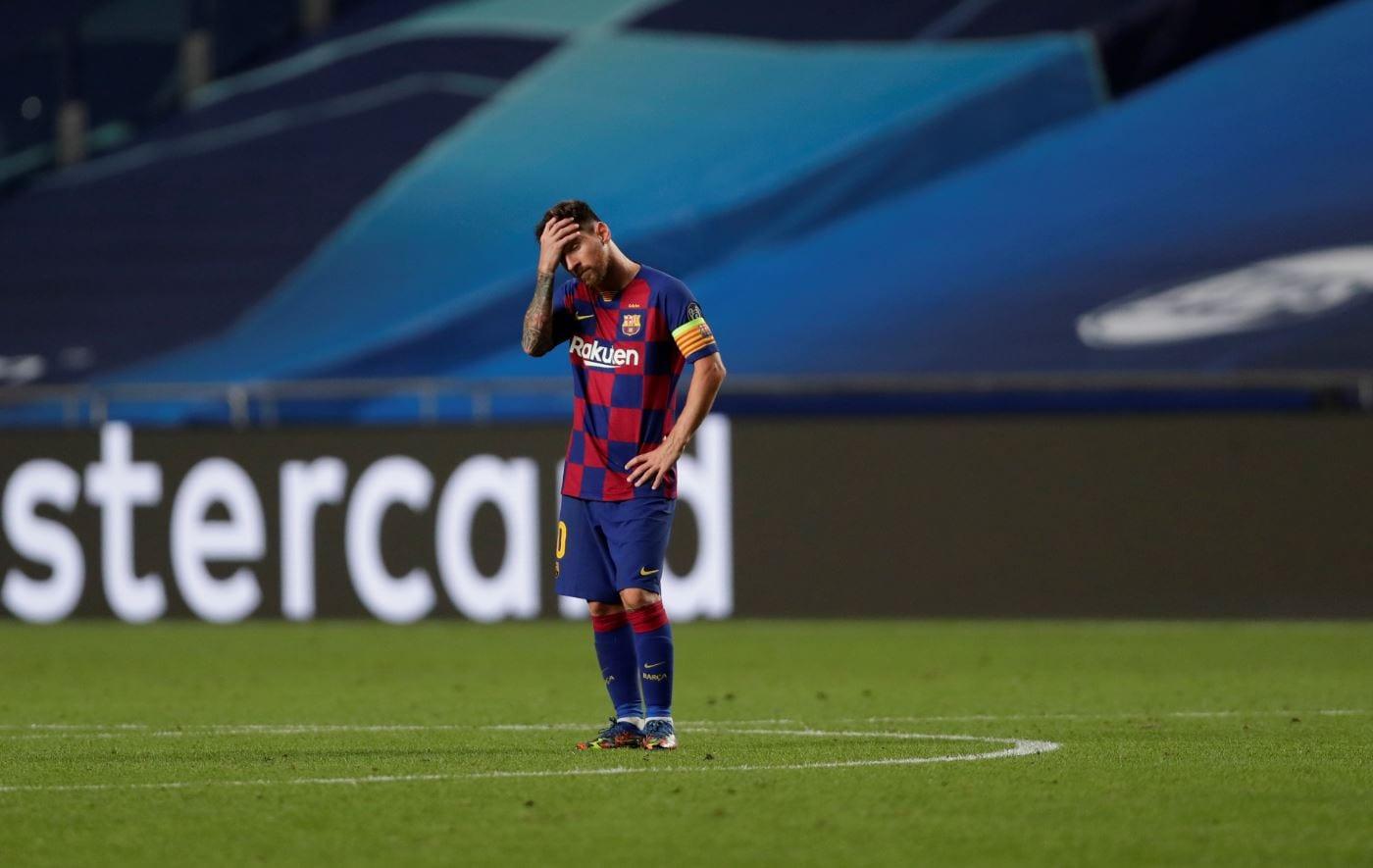 Messi derrota