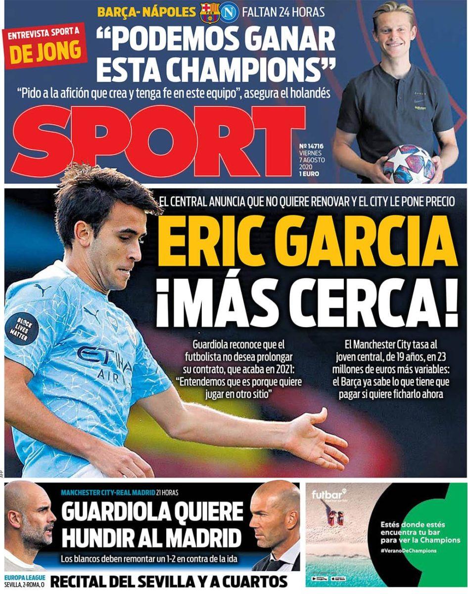 Eric García fichaje