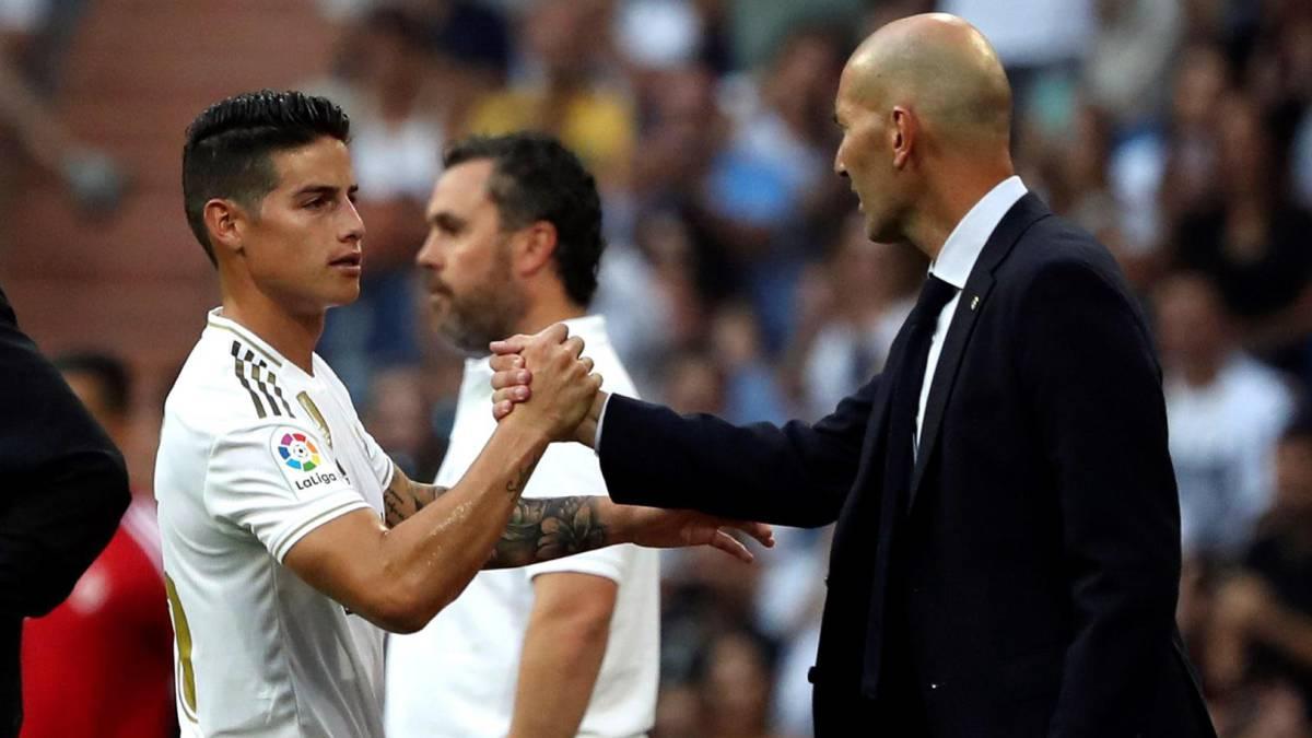 James y Zidane