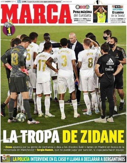 La convocatoria de Zidane