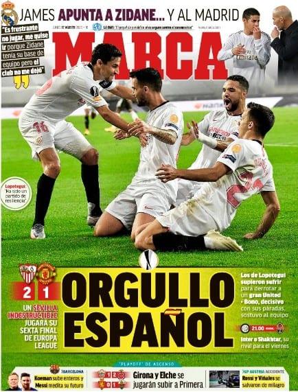 Portada Marca Sevilla finalista