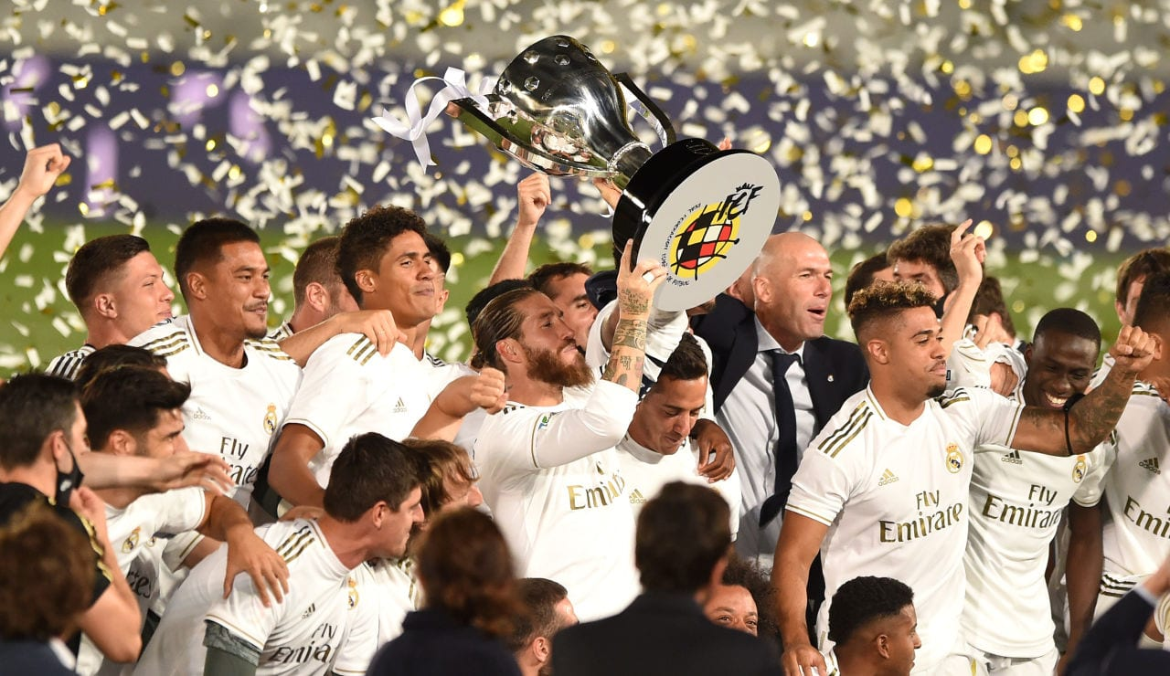 Real Madrid campeón Liga 2020