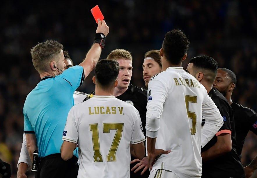 Expulsión de Ramos contra Manchester City
