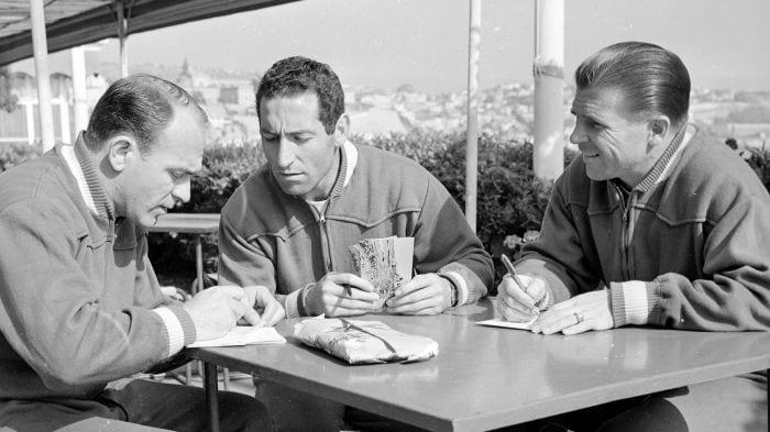 Di Stéfano, Gento y Puskás.