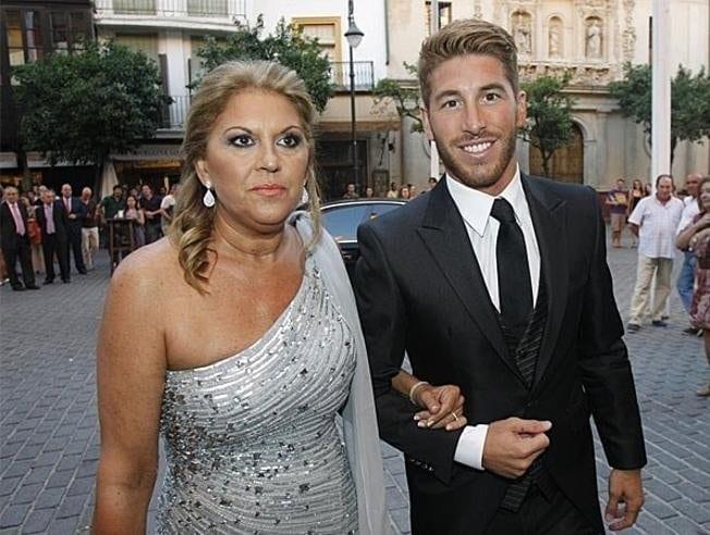 Paqui García y Sergio Ramos.