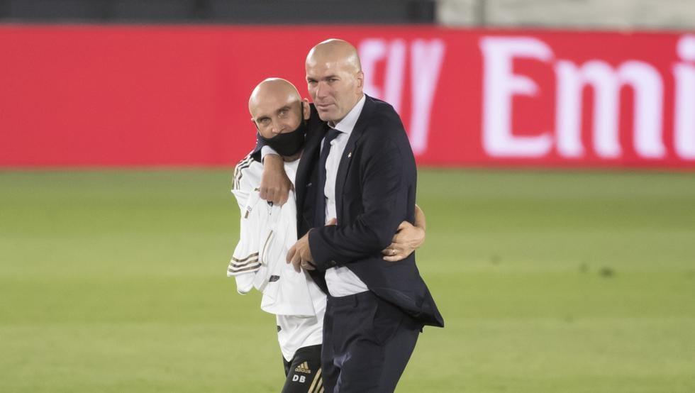 Bettoni y Zidane.