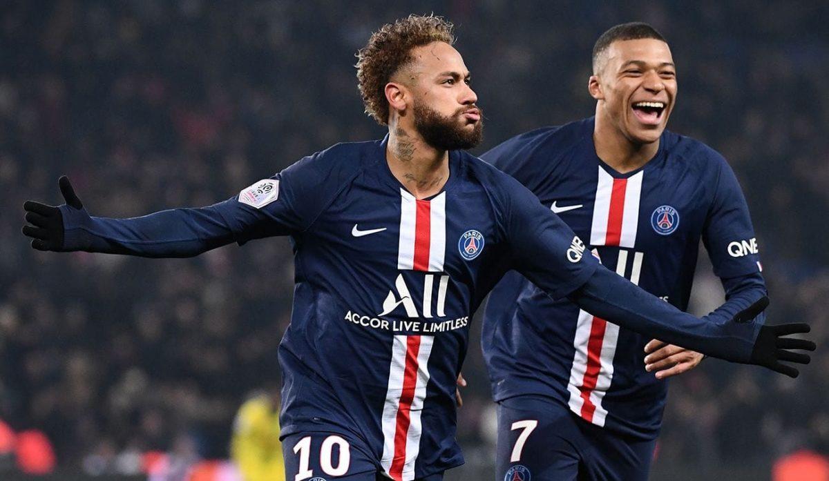 Neymar y Mbappé.