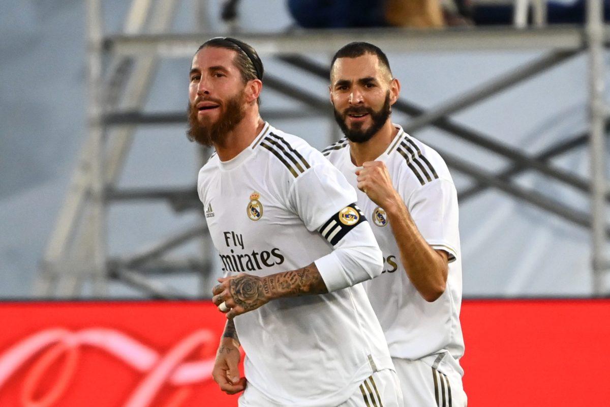 Ramos y Benzema.
