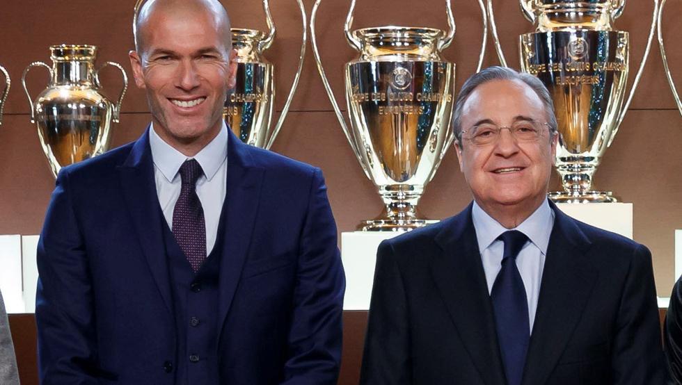 zidane florentino sala de trofeos