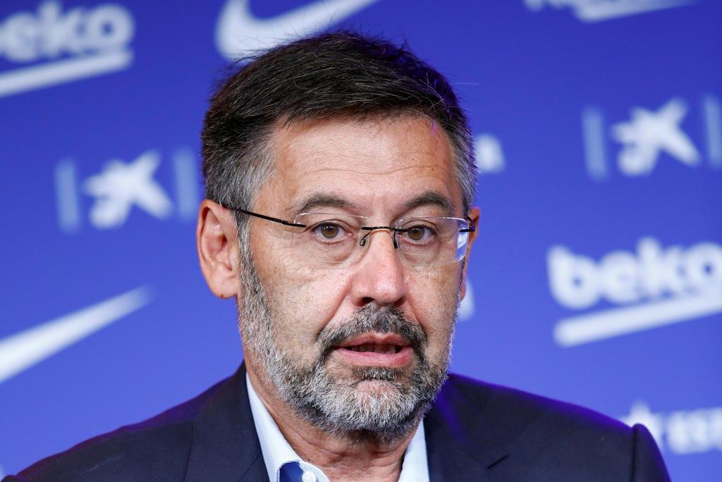 Josep María Bartomeu.