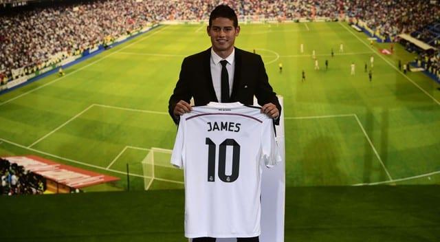 James Rodríguez ficha por el Real Madrid.