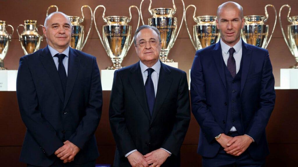 Zidane y Laso, dos hombres y un destino