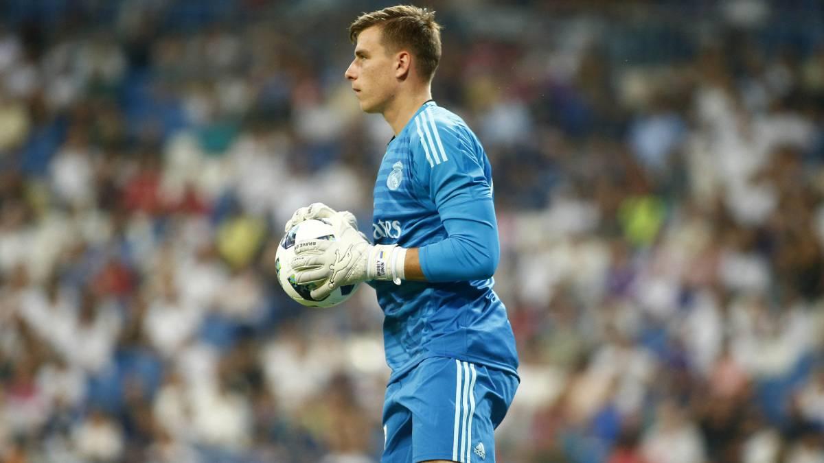 Andriy Lunin.