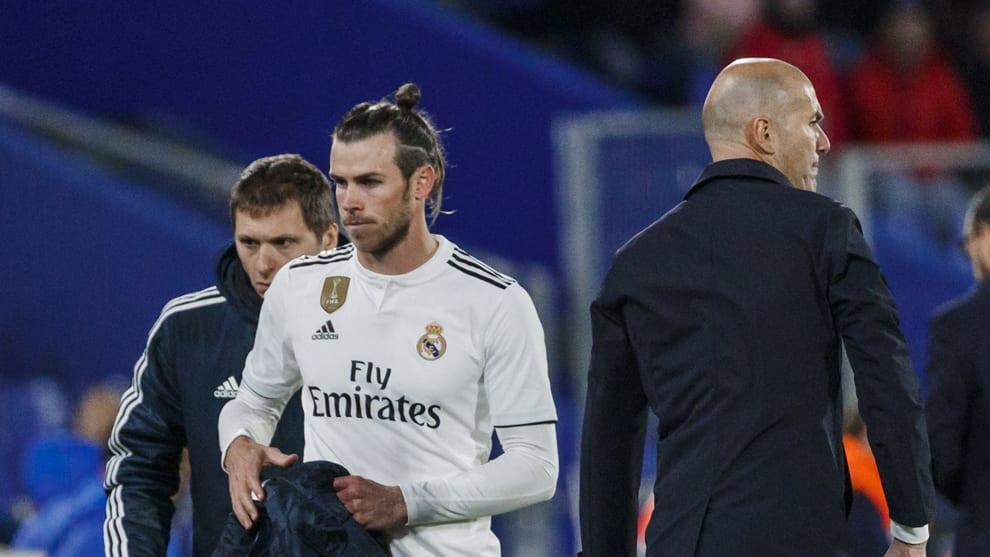 Bale y Zidane.