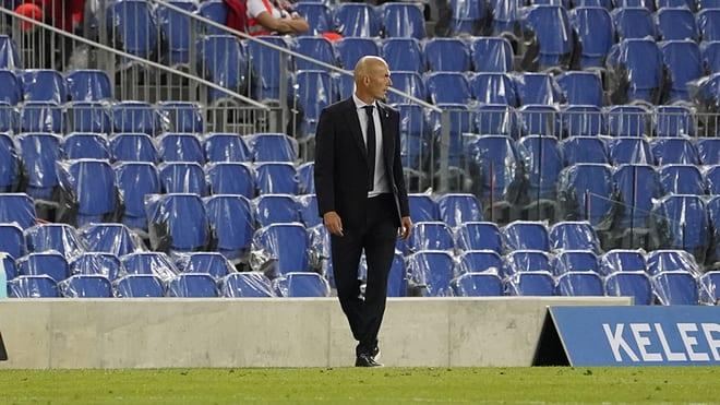 Zidane durante un partido.