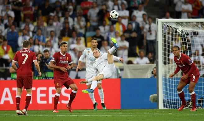 Chilena de Gareth Bale en Kiev.