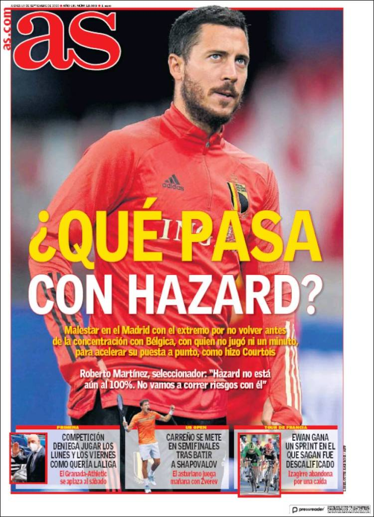 Diario AS qué pasa Hazard