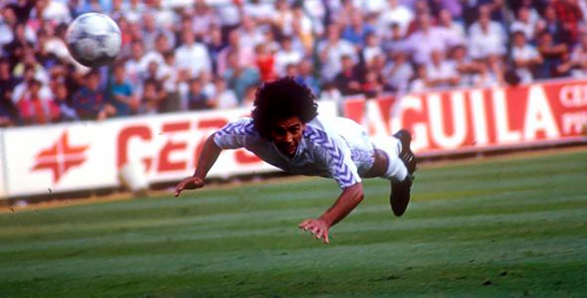 Hugo Sánchez gol