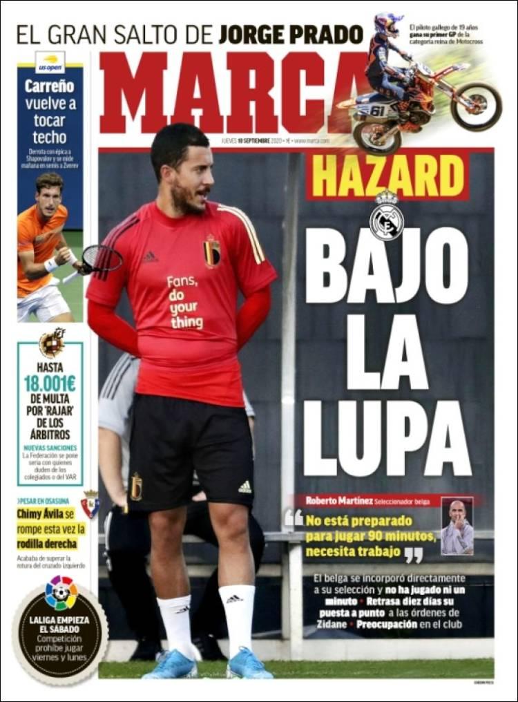 Marca Hazard bajo lupa