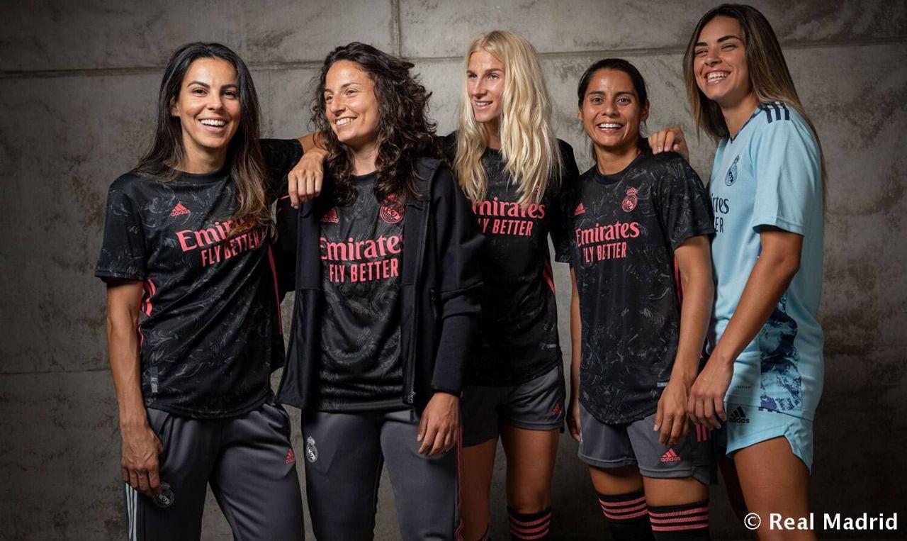 Promoción camiseta Real Madrid femenino