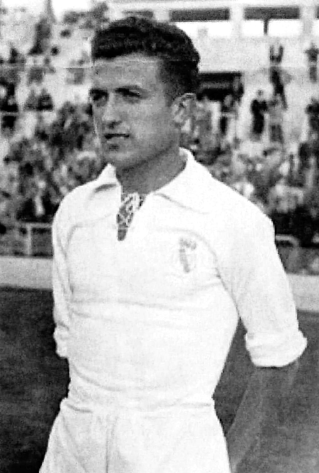 Rafael Verdú jugador del Real Madrid