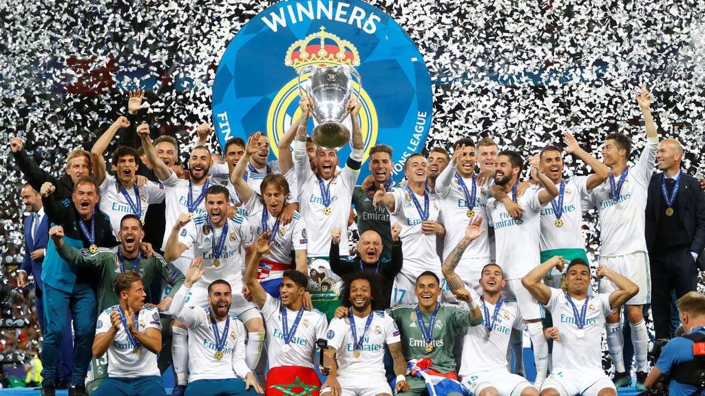 Decimotercera Copa de Europa del Real Madrid.