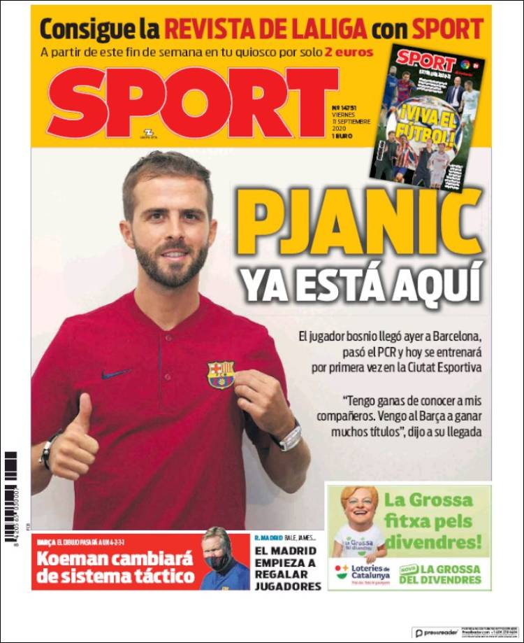Portada Sport Pajnic