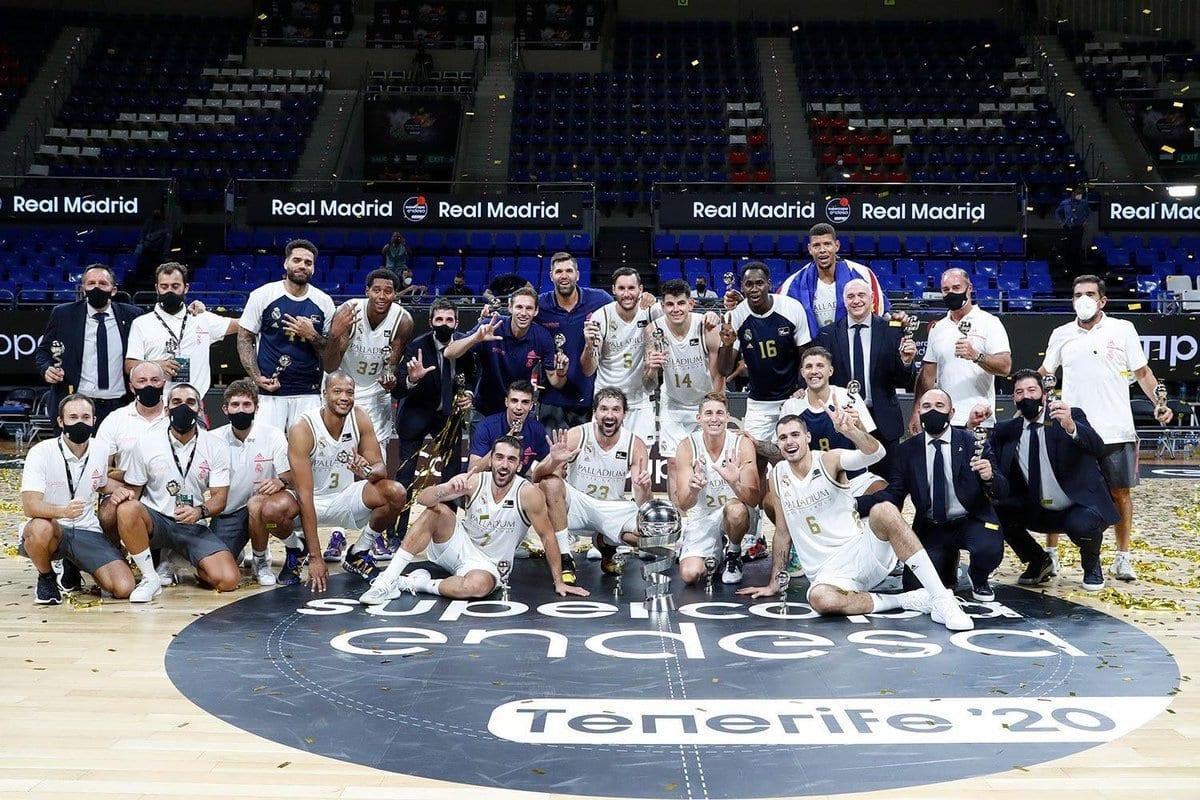 Real Madrid Campeón Supercopa baloncesto 2020