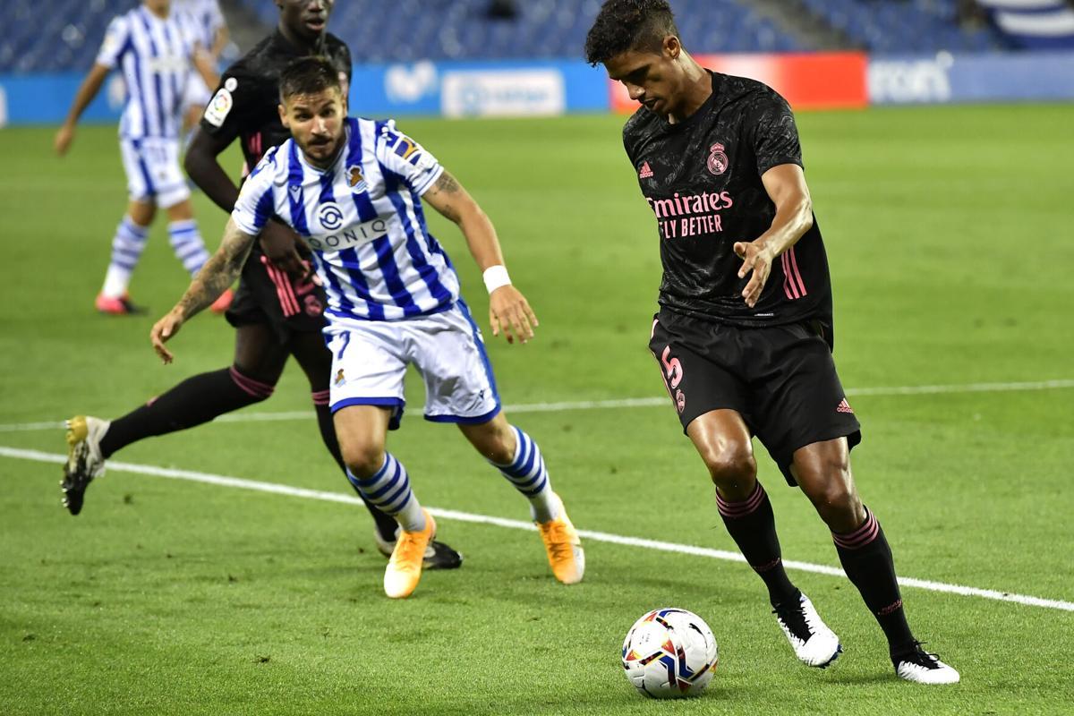 Varane contra Real Sociedad