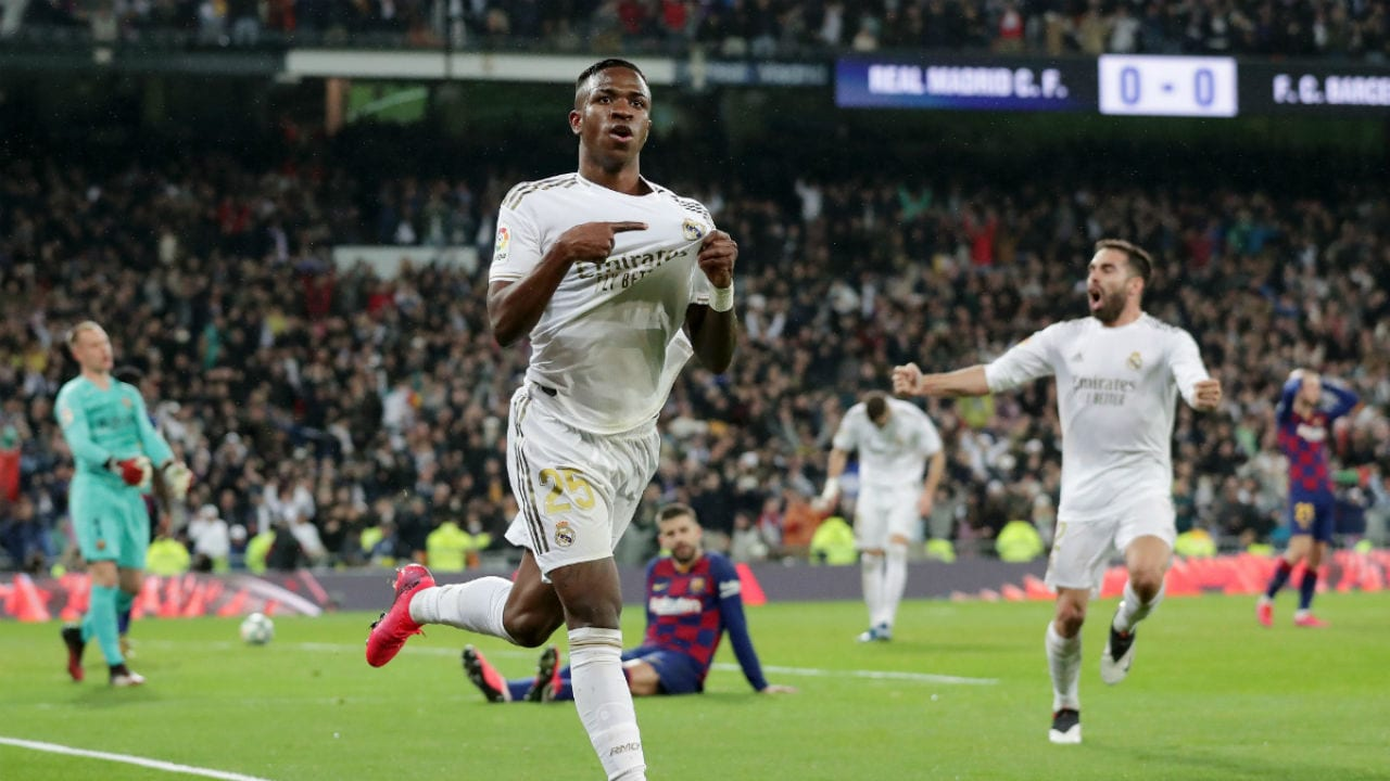 Vinicius gol al Barça