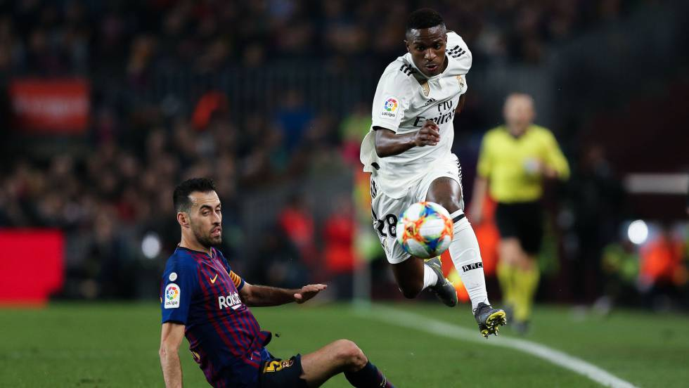 Vinicius contra el Barça