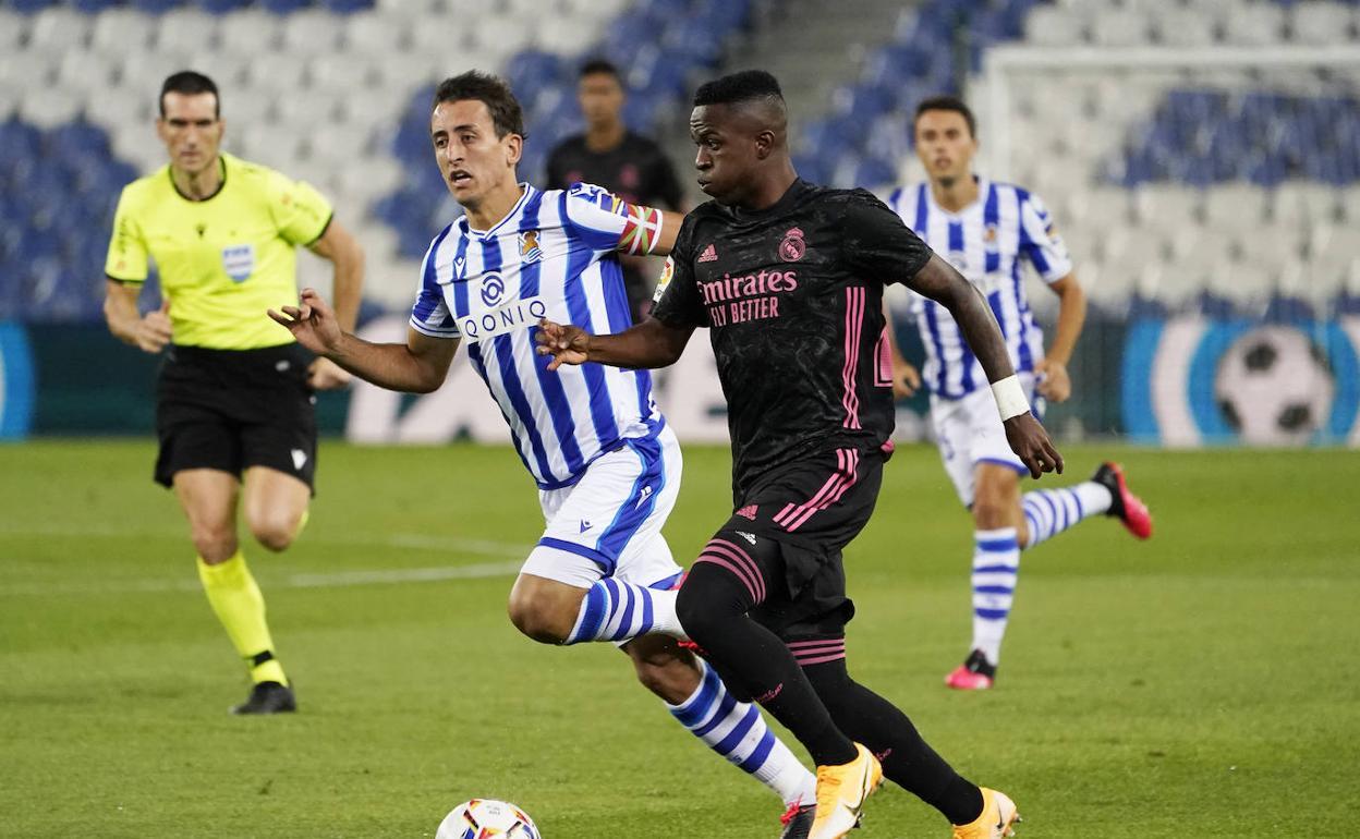 Vinicius contra Real Sociedad