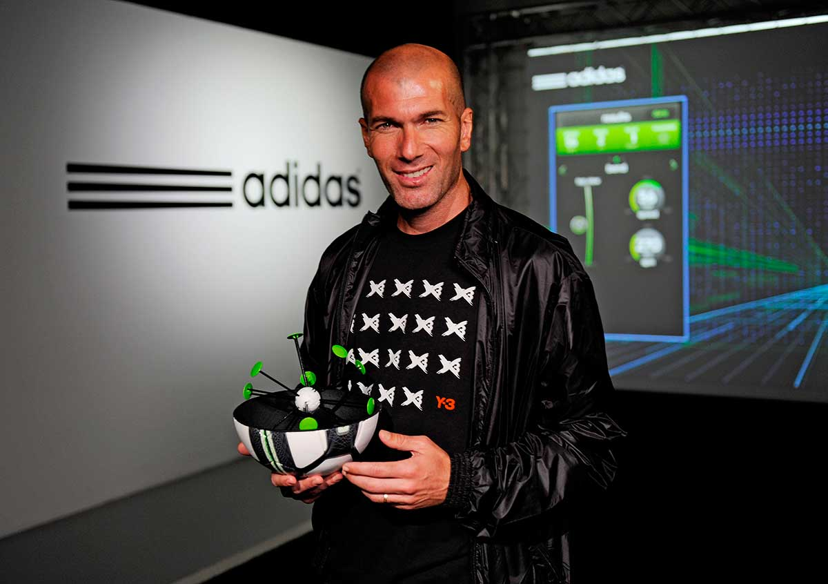 Zidane laboratorio
