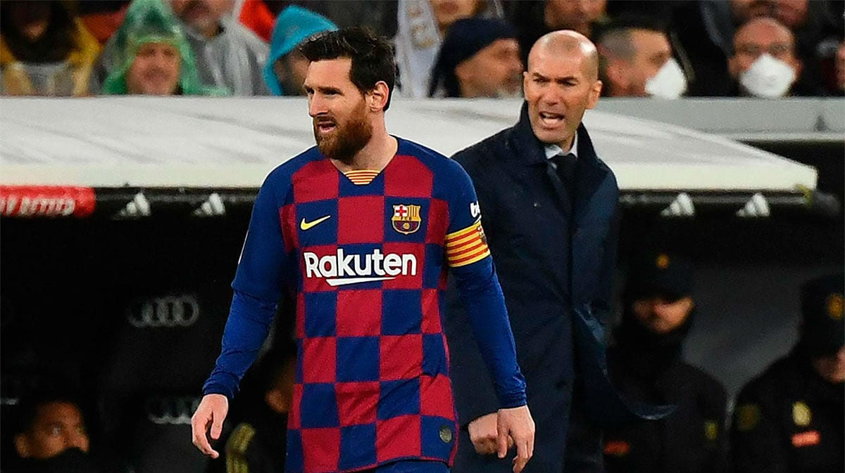 Messi y Zidane