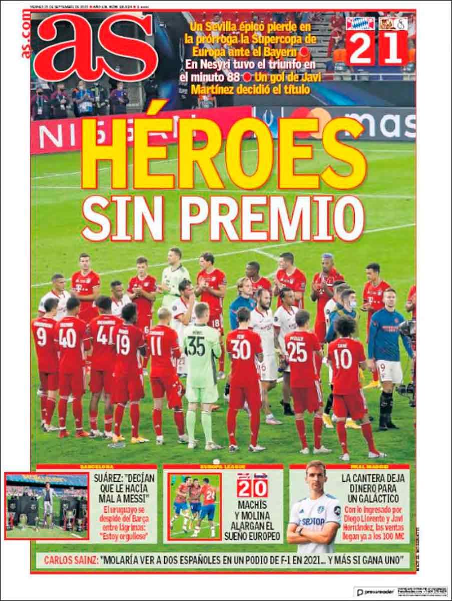 Portada AS Sevilla Bayern