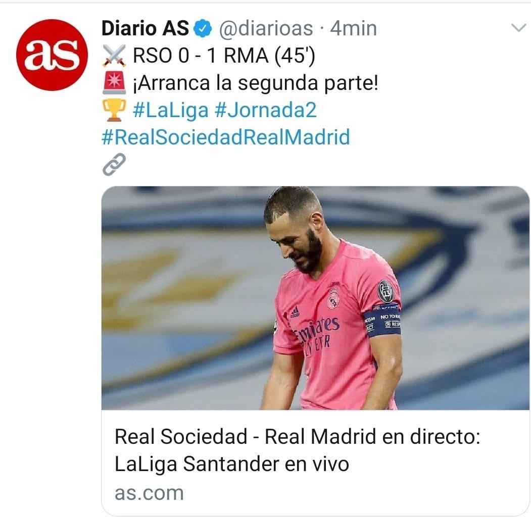 Roncero gafe Real Madrid
