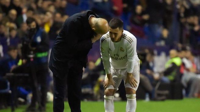 Zidane y Hazard.